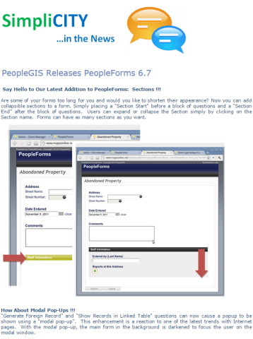 PeopleForms Release